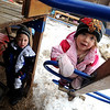 """Caleb Sheridan-Michaels, left and Stella Delaney, play outside at the Homestar Child Development Preschool in Boulder on Thursday. For more photos of the kids, go to  <a href=""""http://www.dailycamera.com"""">http://www.dailycamera.com</a><br /> Cliff Grassmick / January 14, 2010"""