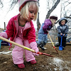 "Neva Upton, left, Isabel Link, and  Andrew Honstein, dig in the playground at Homestar Child Development Preschool in Boulder on Thursday. For more photos of the kids, go to  <a href=""http://www.dailycamera.com"">http://www.dailycamera.com</a><br /> Cliff Grassmick / January 14, 2010"