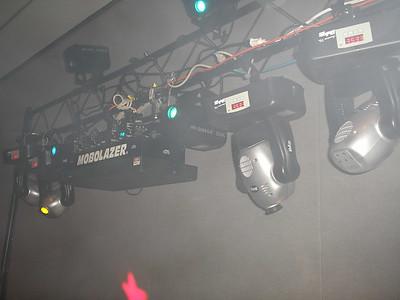 close up of lights