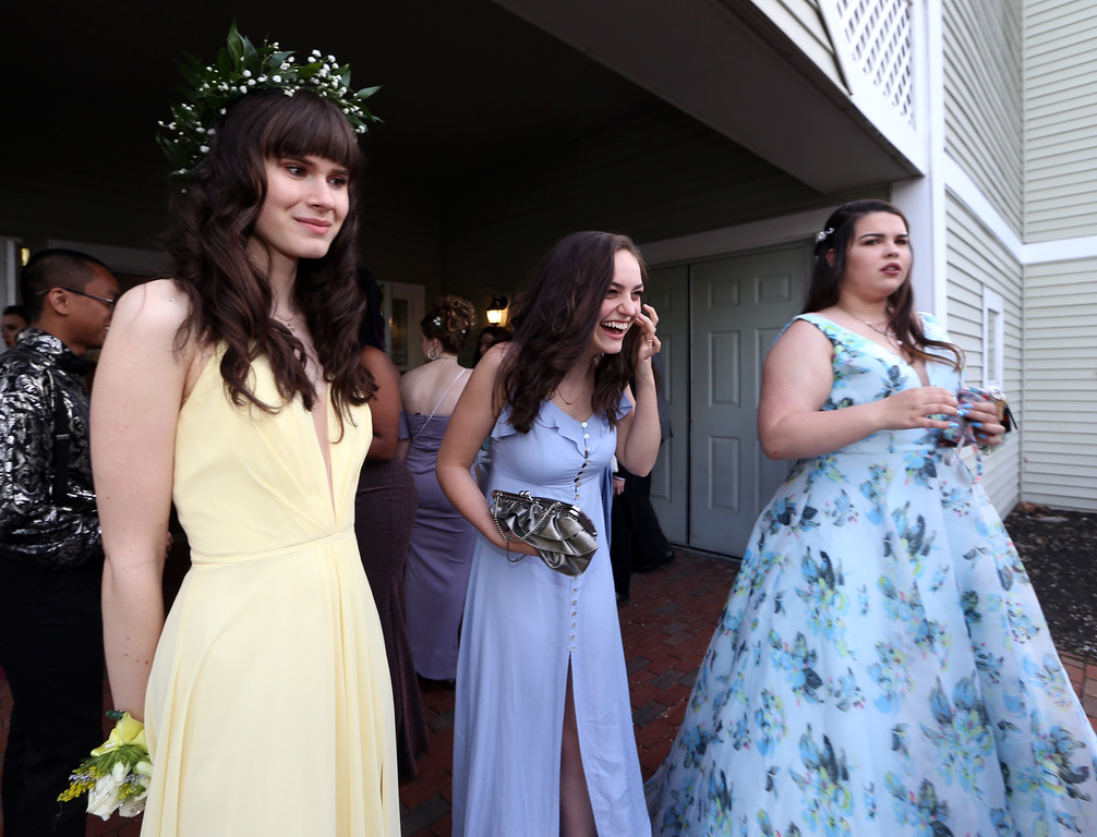 . Innovation Academy Charter School prom, at Westford Regency. (SUN/Julia Malakie)