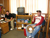 Shawn and Zak in their dorm room