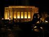 Auditorium at night