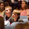 "Audience members watch the short film ""If Only"" at North Middlesex Regional High School on Tuesday evening. ""If Only"" is a short film intended for teens, parents and adults to raise awareness about the dangers of prescription drug misuse and abuse and to start a conversation that encourages the safe use, storage and disposal of prescription drugs to keep them out of the hands of kids. SENTINEL & ENTERPRISE / Ashley Green"