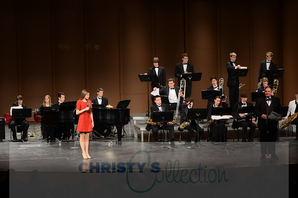 WLHS Jazz Band with Evie Kennedy