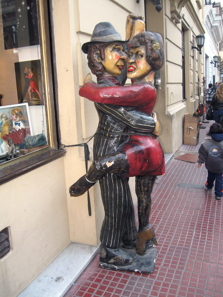 Dancing is a key aspect of Argentine culture, in particular, the tango.