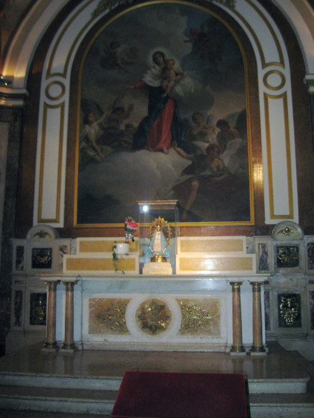 Infant of Prague chapel in Cathedral.