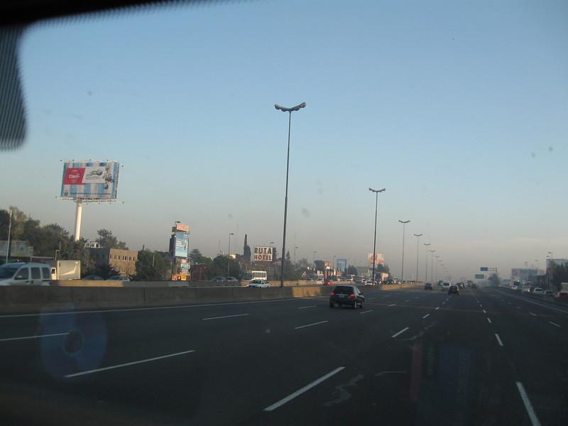 Autopista in BA area.