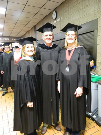 Left tot right: Michelle Beets, Howard Hase, Stacy Johnson