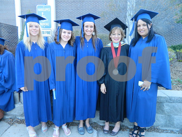 Left to right: Stephanie Haines, Sarah Smith, Kinsey Kite, Patty Croonquist, and Yanira Banchs