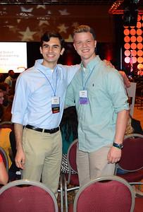 Josh Heiman and Trevor Wilson (Pres. and VP of JHS Key Club)