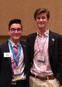 Drew Valenti ( 14B Lt Governor) and his successor Joe McGonnigal
