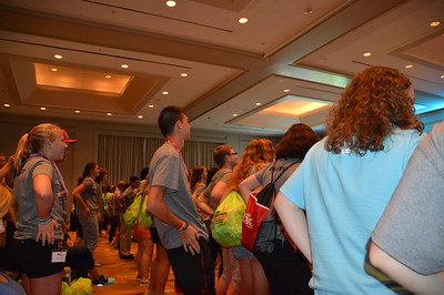 "SADD Conference learning the next part to the ""SADD CONFERENCE DANCE"""