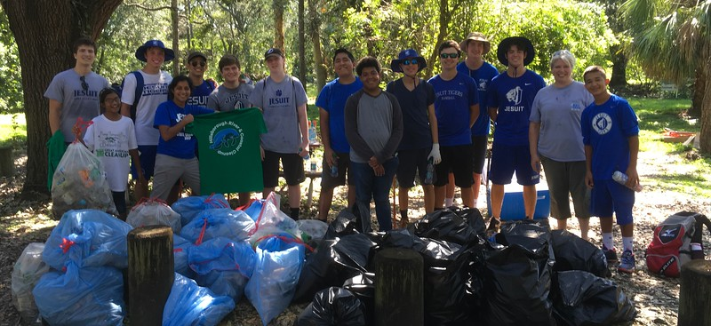 2017 09.16 EC/KC Hillsborough River Fall Clean Up