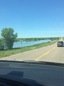 interesting scenery as we drive the 4 hours to St. Francis (photo by Chris)