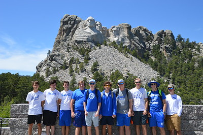 Ben, Jordan, Jack, Harrison, Shaughn, Seth, Chris, Ian, Preston, and Jake at Mount Rushmore