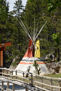 Sioux Tipi in the children's play area