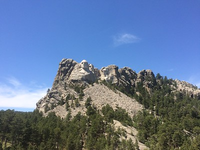 Mount Rushmore - photo by Chris