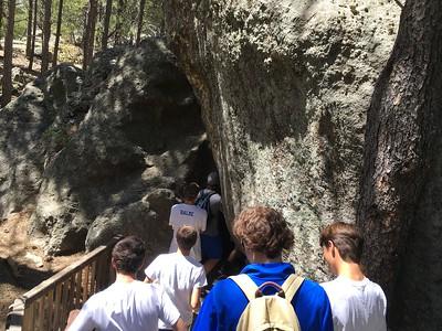 The Cave awaits - Shaughn, Ian, Jack, Jordan, Seth and Ben