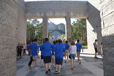 First stop Mount Rushmore National Monument