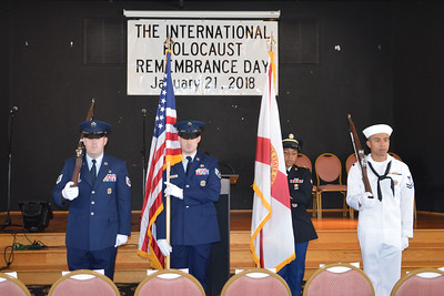 MacDill AFB Color Guard