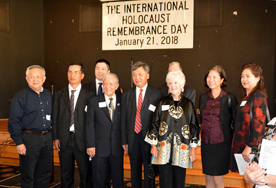 Chinese consulate, Vincent Genovese and guest speaker/Survivor Betty Grebenschikoff