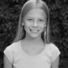 Julia's 5th grade photo - black & white