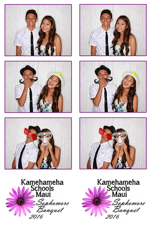 Kamehameha Schools Maui Sophomore Banquet 2016