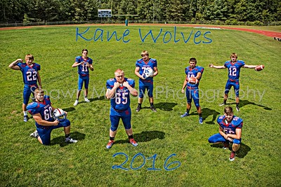Kane football metal 2016