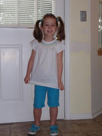 Katie's 1st Day of Kindergarten
