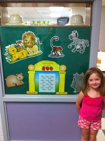 Katrina's 2nd grade classroom and Elena's 1st Grade classroom