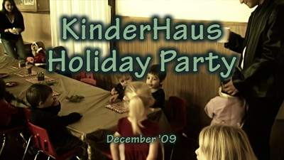 KinderHaus Holiday Party