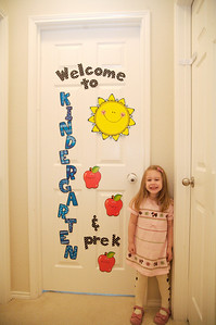 Mary's first day of Kindergarten