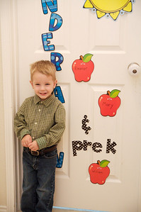 William's first day of Pre-K