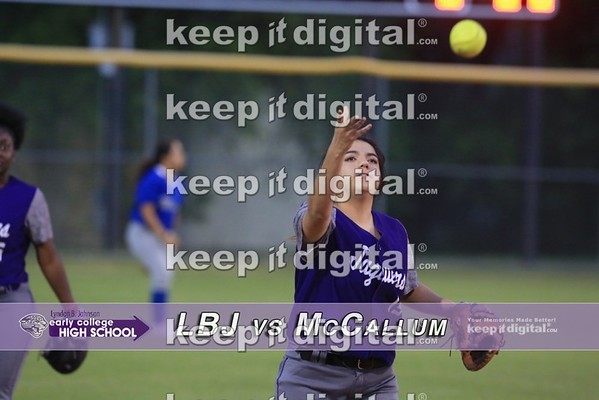 03_28_17 LBJ vs McCallum Softball