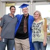 Leominster Center for Excellence graduate Alex Ferguson got his diploma given to him by her parents Ian And Sara Ferguson during the schools first graduation on Thursday afternoon. SENTINEL & ENTERPRISE/JOHN LOVE