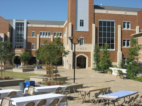 Oktoberfest was the first student-sponsored celebration on the beautiful new commons area in the heart of the campus.