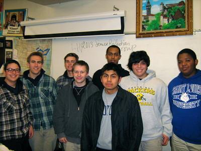 LHS Senior Reflection Group 2013