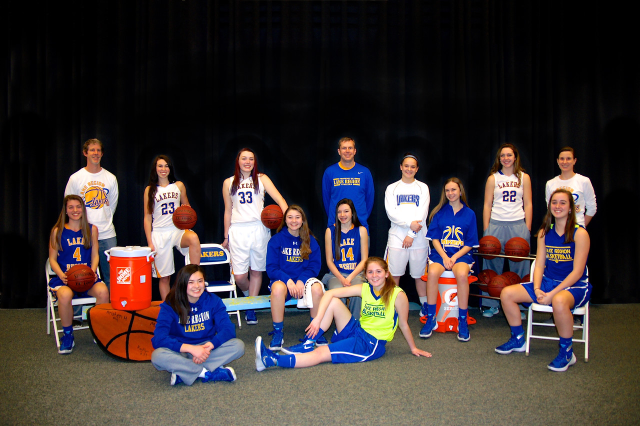Girls Basketball Team 2016 4x6