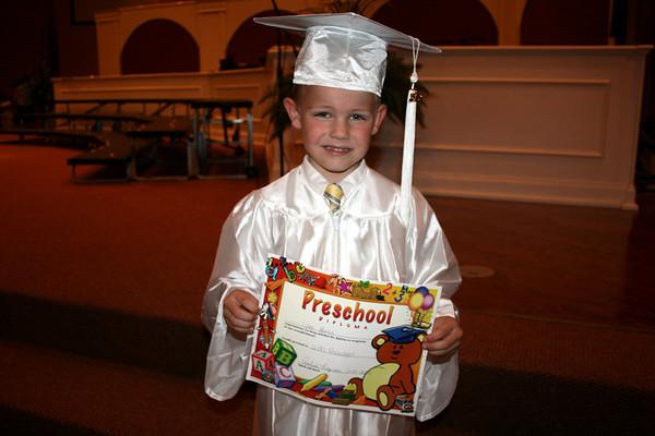 Lane's Graduation PreSchool May 20, 2010