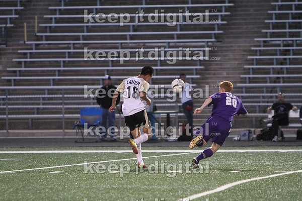 Lanier vs LBJ Boys Soc 02_22_12