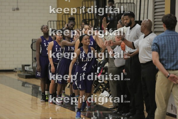 Lanier vs LBJ Girls 02_02_16