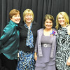 Branford's Karen Koon, second from right, was named Suwannee's District Teacher of the Year in 2012
