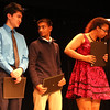 Arete Awards Ceremony for Lowell High Latin Lyceum. From left, Seofong Lee, Rushi Patel and Kaylaundra Washington, who all received Cum Laude & Humanitas. (SUN/Julia Malakie)