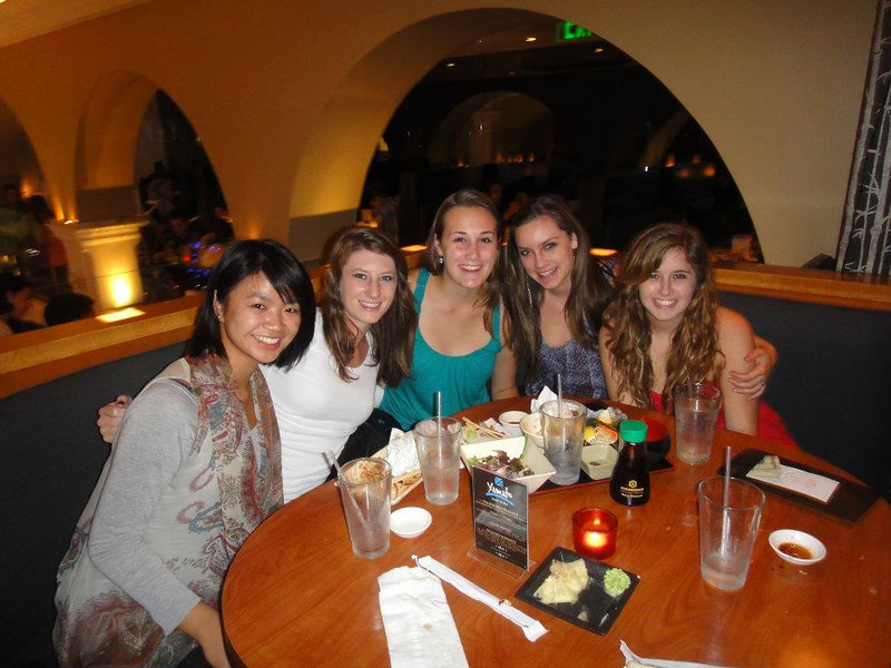 19th birthday dinner at sushi restaurant!