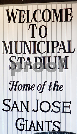 The San Jose Municipal Stadium is one of the more intimate venues for a baseball game.