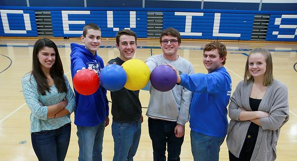 LHS dodgeball fundraiser
