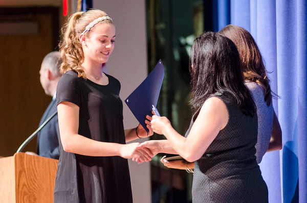Leominster High undergraduate award ceremony