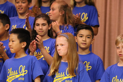 Lincoln Hubbard 5th Grade Graduation