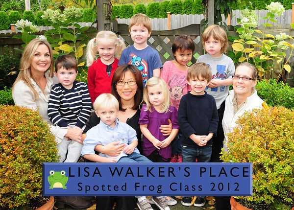 lisa walkers place Spotted Frogs