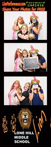 Lone Hills 4/14/16 EYE photo Booth Photo Strips